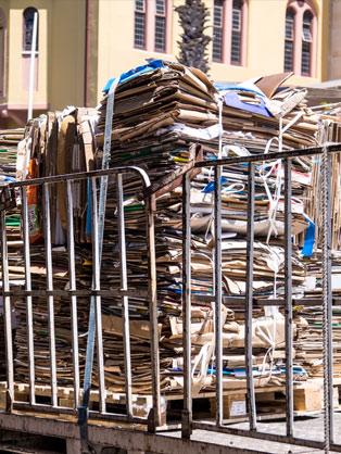 Ankauf von Altpapier - Schrottplatz Rochlitz